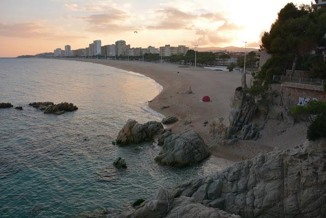Hotel Costa Brava sun set