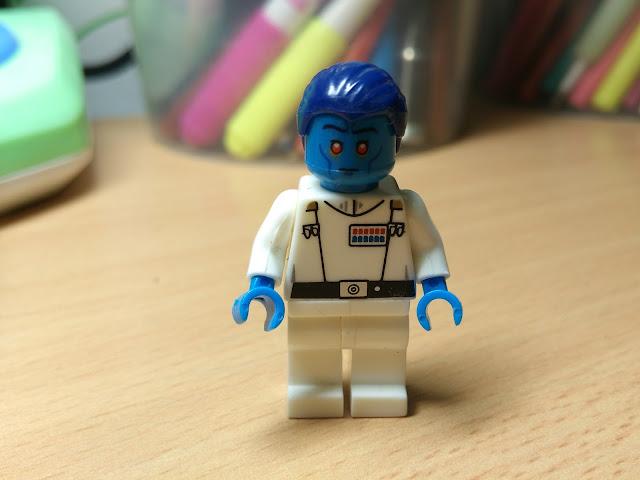 гранд-адмирал Траун, фигурка лего, Звездные войны, купить