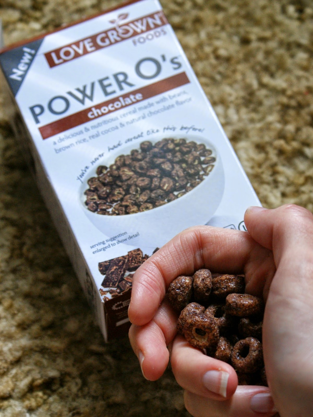 Love Grown Foods Chocolate Power O's
