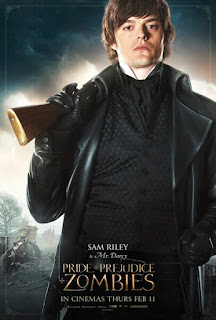 sam riley,傲慢與偏見與殭屍,Pride and Prejudice and Zombies