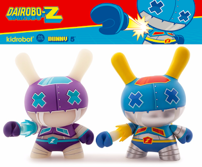 "Dairobo-Z 5"" Dunny Vinyl Figure by Dolly Oblong x Kidrobot"