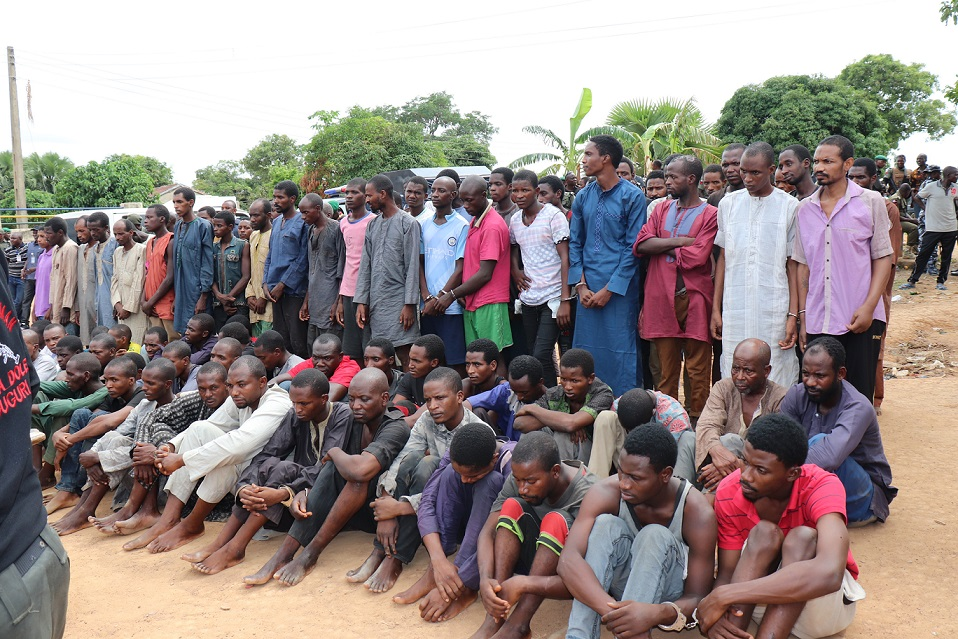 Welcome to Kampe News Blog: Police arrest 93 kidnappers in