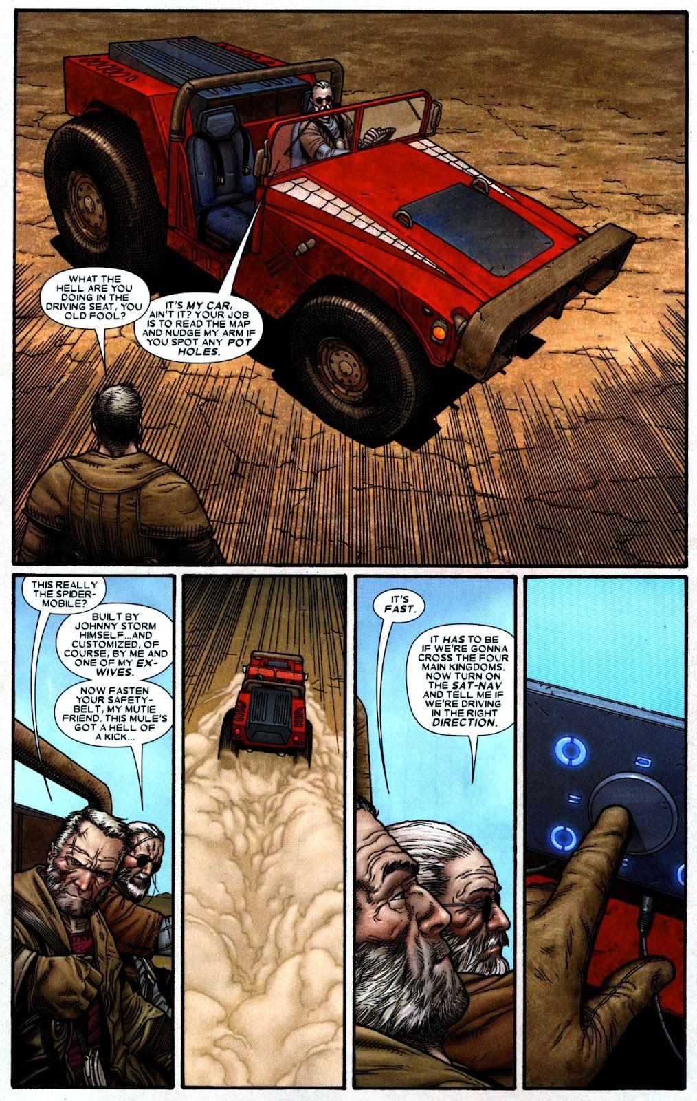 Read online Wolverine (2003) comic -  Issue #66 - 21