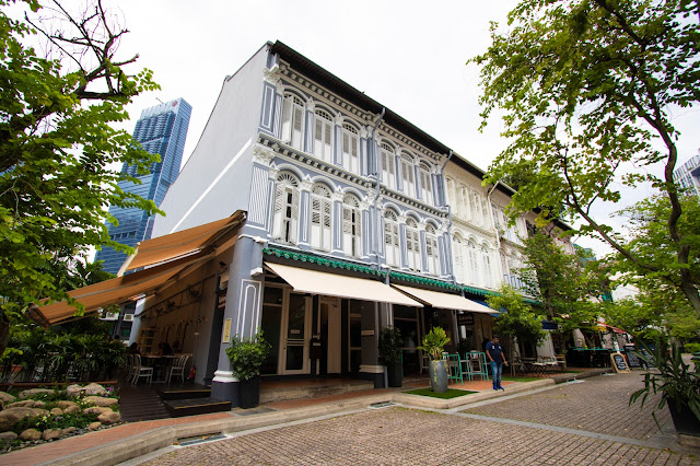 Le shop house (case coloniali) di Duxton hill-Singapore