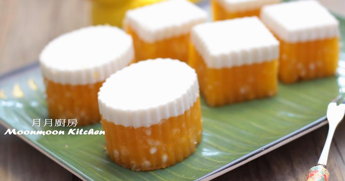 Sandy Mama @ MOONmoon's Kitchen : 食譜~【椰汁芒果西米糕】
