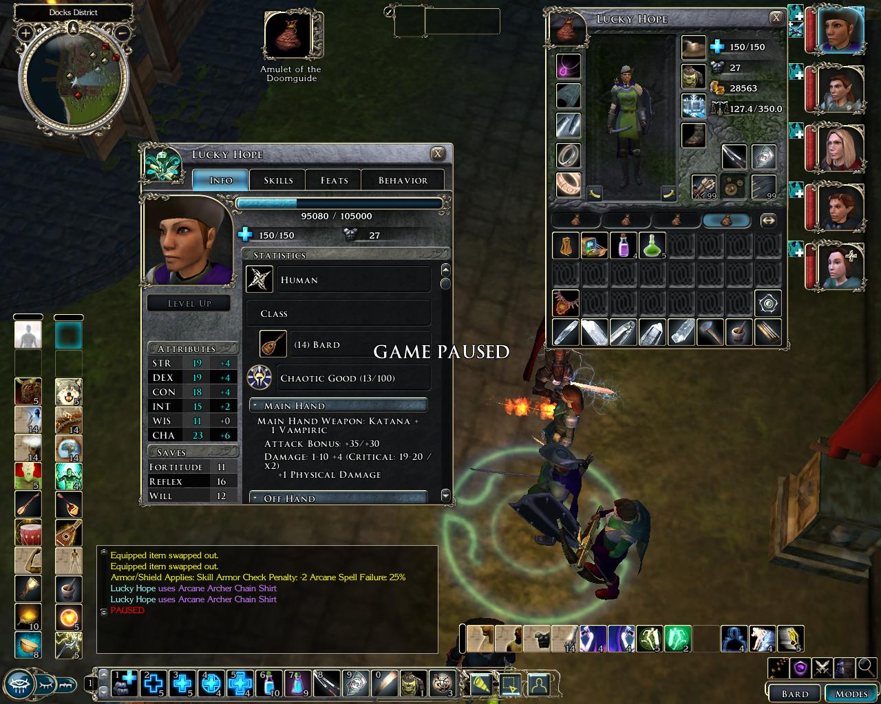 The Best Games Ever: Neverwinter Nights 2 - Bard Level 14