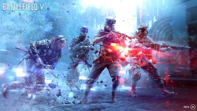 """شاهد بالفيديو 6 دقائق من محتوى لعبة Battlefield V بعنوان """" هذه هي باتلفيلد 5 """""""