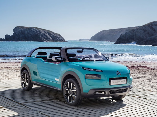Citroën Cactus M, The return of the Mehari
