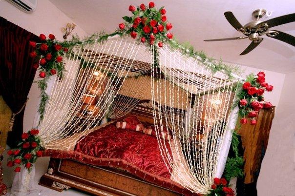 Wedding Snaps Bridal Bed Room