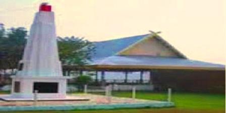 tugu 5 januari di Indragiri Hulu Riau