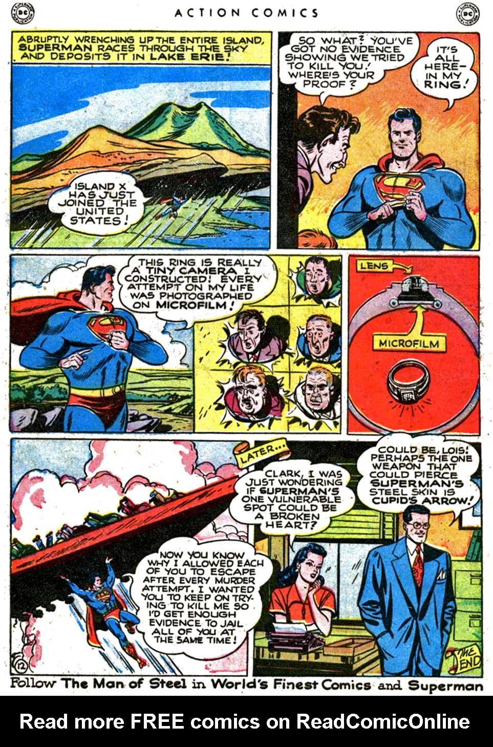 Read online Action Comics (1938) comic -  Issue #123 - 14