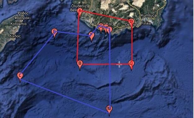 Εγκλωβίζει και πάλι το Καστελλόριζο με NAVTEX η Τουρκία