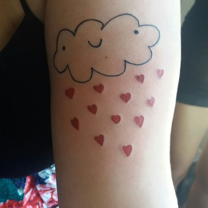 This Tattoo Artist Is Not Good At Drawing And That's Exactly Why Her Clients Choose Her