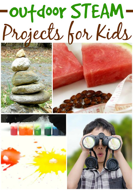 Outdoor STEAM Projects for Kids