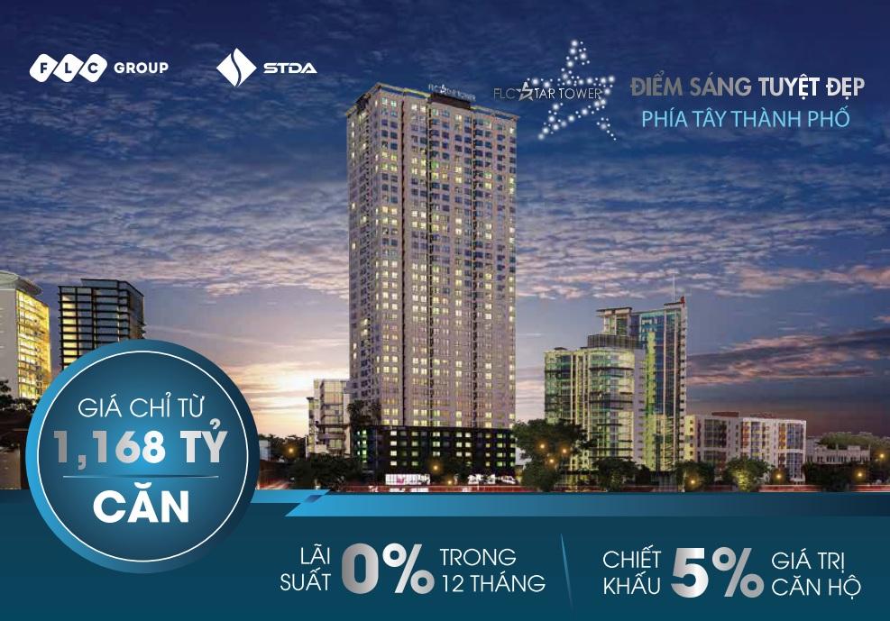 Quảng cáo chung cư FLC Star Tower 418 Quang Trung