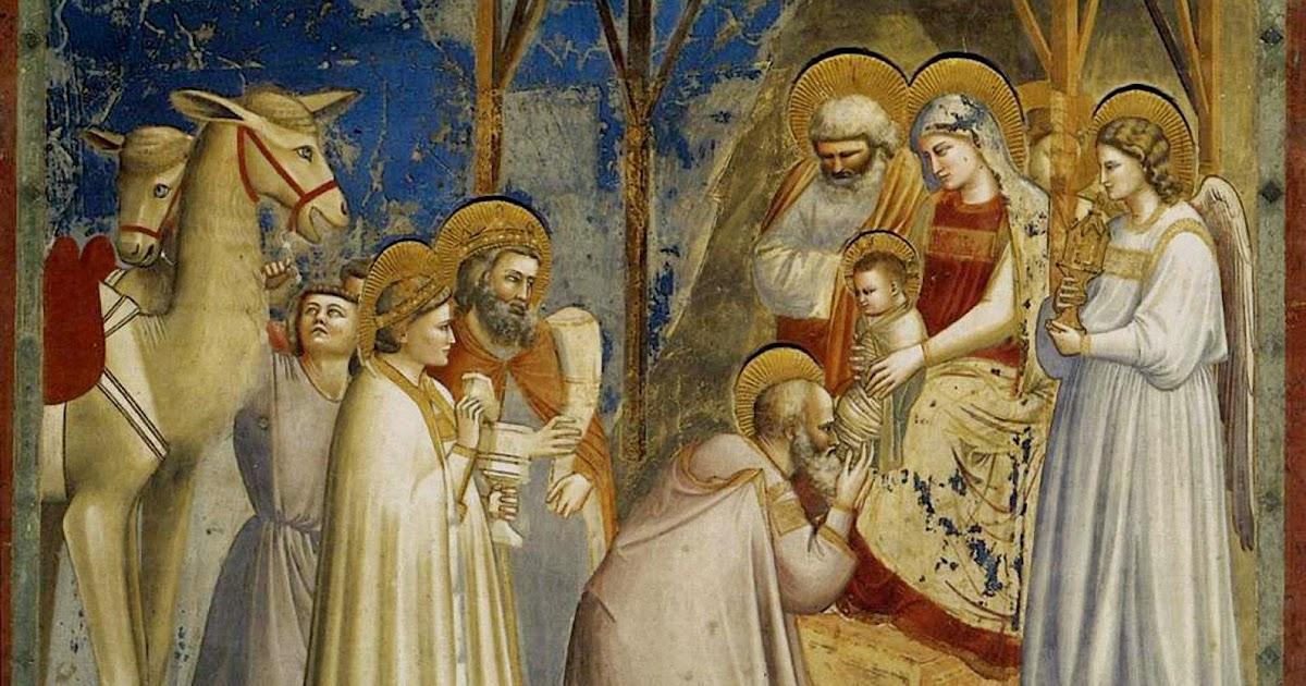 Aznalfarache Giotto La Adoracion De Los Magos