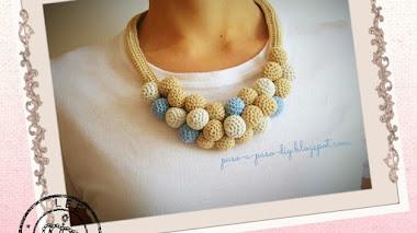 Collar tejido - DIY