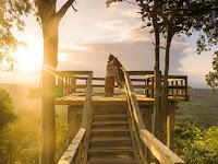 Menikmati Sunset dari Wisata Bukit Pertapan Bayat Klaten