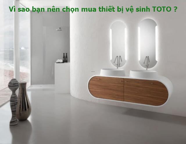 Vì sao bạn nên chọn mua thiết bị vệ sinh TOTO ?