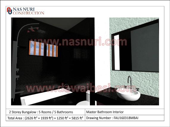 interior designer malaysia bilik air washroom