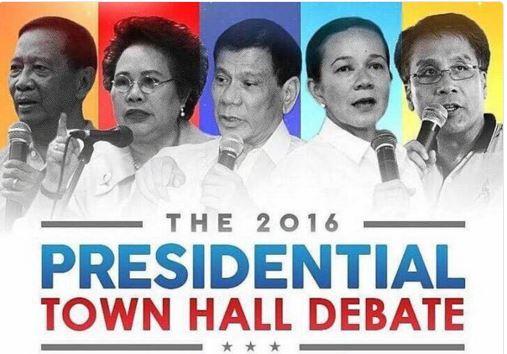 presidential townhall debate