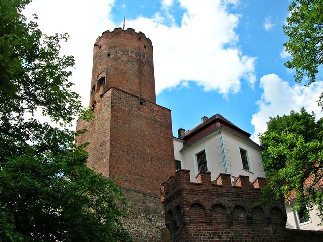 zamek, wieża, baszta, zabytek