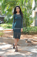 Simran Choudhary Cute beauty with dimples in transparent Green Tight Short Dress ~  Exclusive 005.jpg