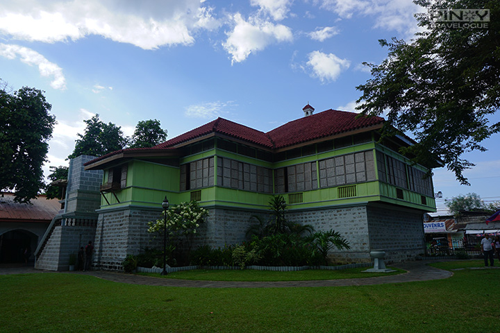 Two-storey house where Jose Rizal was born