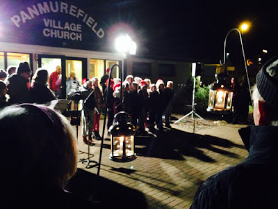 Panmurefiled Community Carol Service 18 December 2013