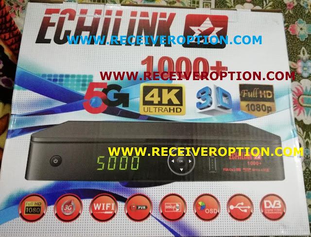 ECHILINK 1000+ HD RECEIVER POWERVU KEY OPTION