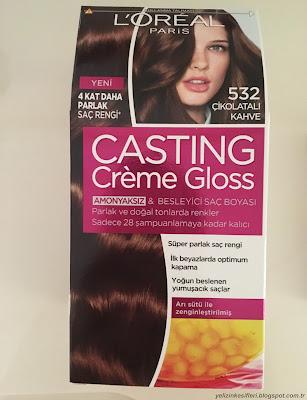 loreal casting creme gloss saç boyası