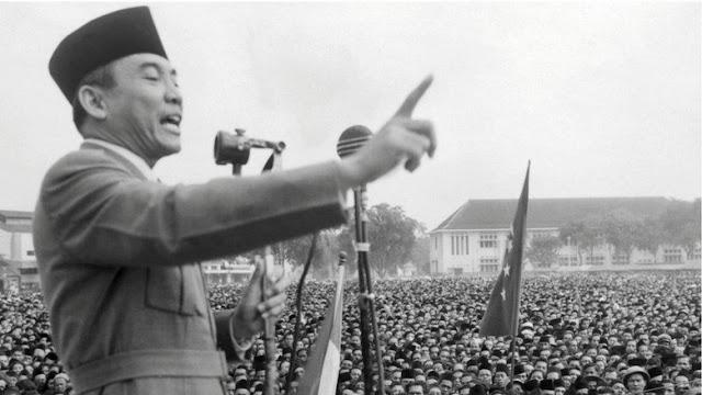 Beda dengan Sukma, Ini Puisi Sukarno tentang Indonesia