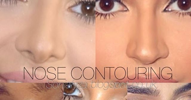 NOSE CONTOURING: EVERYTHING YOU NEED TO KNOW | SoniaxFyza