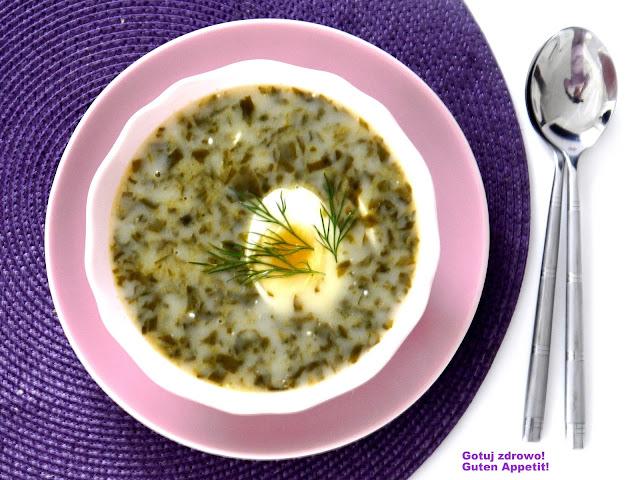 Zupa szczawiowa - wegeteriańska - Czytaj więcej »