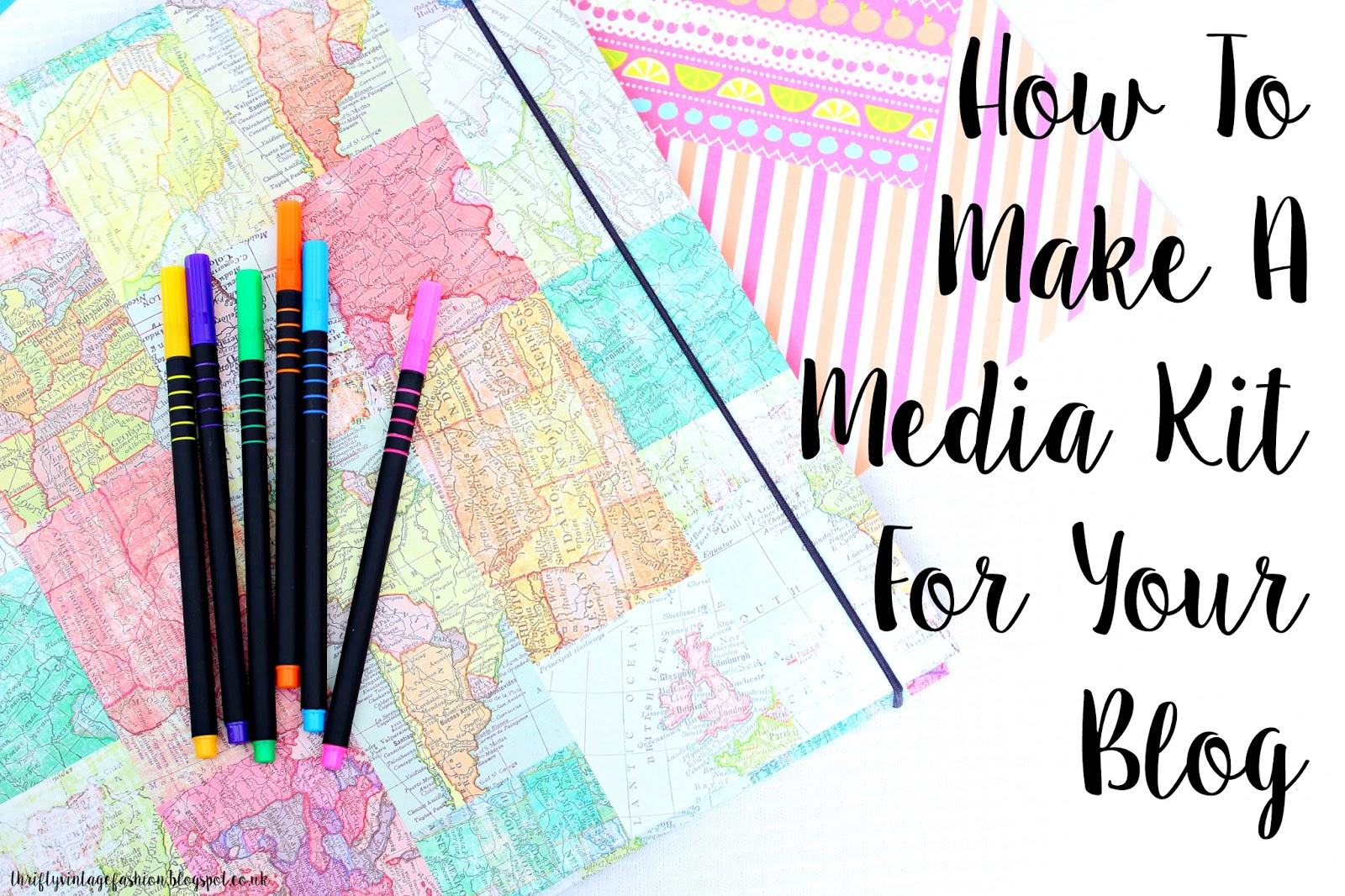 How To Make A Media Kit For Your Blog help guide easy quick step by step