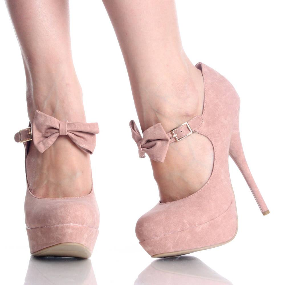 Pink Ribbon Heels - Is Heel