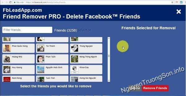 Hướng dẫn cách xóa bạn bè hàng loạt không tương tác trên Facebook