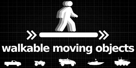 動いている車両の上を歩けるArma 3アドオン