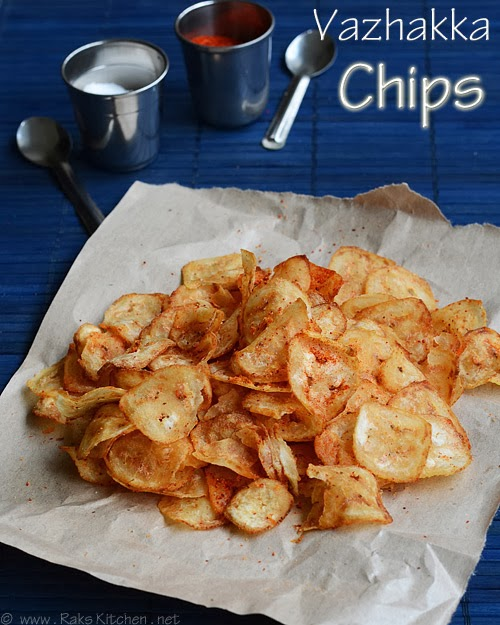 how to make vazhakkai chips