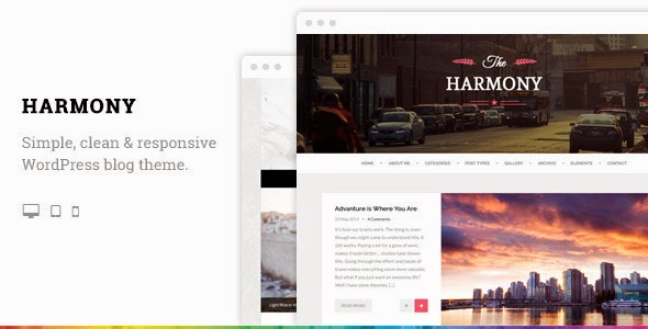 Premium Responsive WordPress Blog Theme