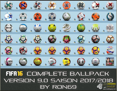 FIFA 16 Complete Ballpack 9.0 by Ron69