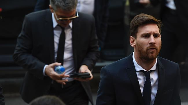 Barcelona star Lionel Messi's 21-month jail term confirmed