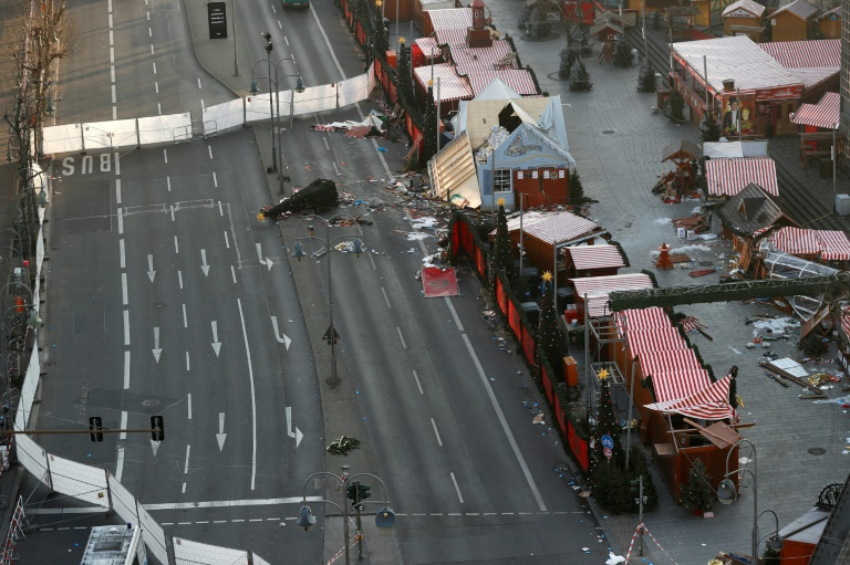 The truck attack on a night market in Berlin lead to the wrongful arrest of Naveed Baloch, an asylum seeker from Pakistan.FP / Odd ANDERSEN