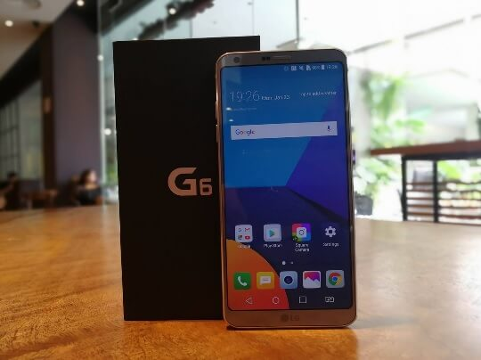 Pre-Order LG G6 and Get Freebies Worth Php8,990