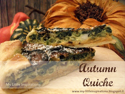 Ricetta Quiche d'Autunno - MLI