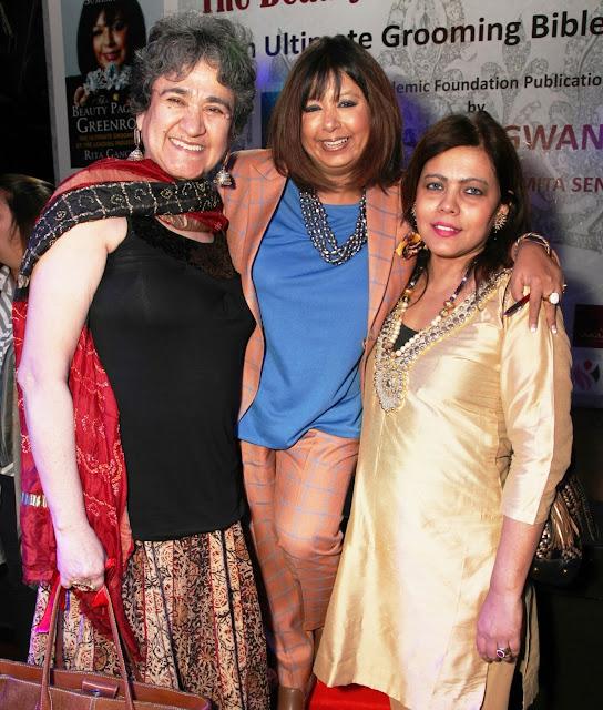 Ratan Kaul, Rita Gangwani with Shahana Mookerjea