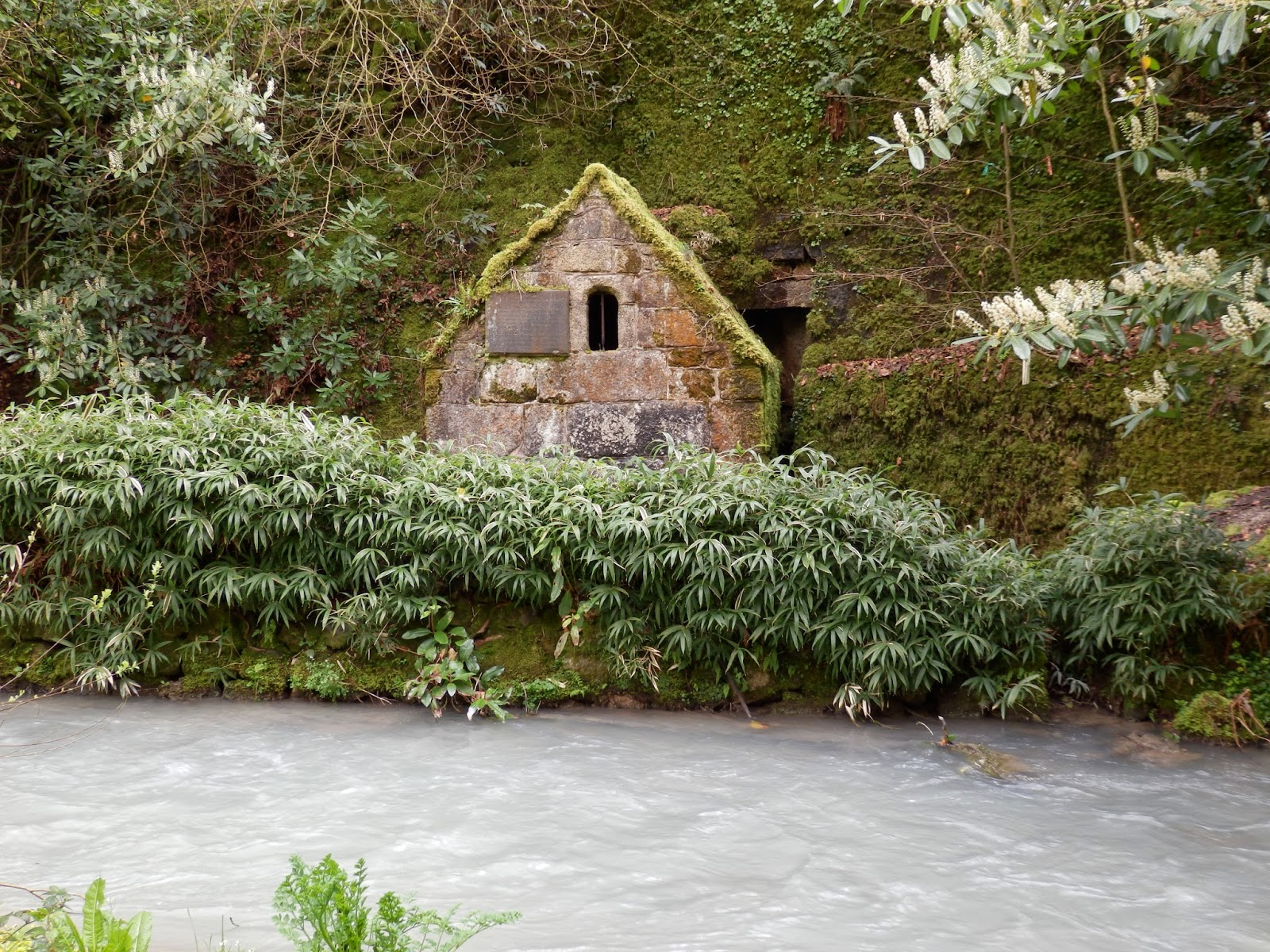 Holy Well, Menacuddle, St Austell, Cornwall