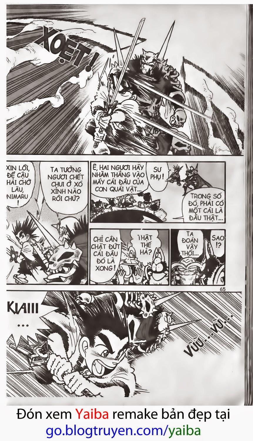 Yaiba chap 158 trang 14