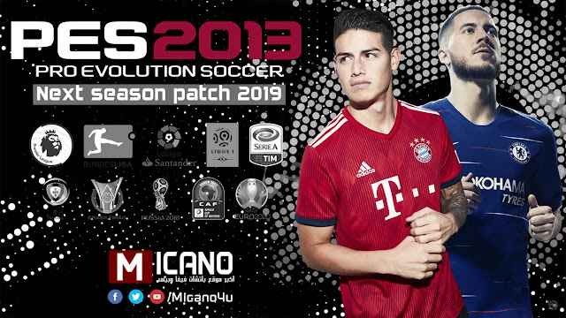 PES 2013 Next Season Patch 2019 - Released 06/06/2018