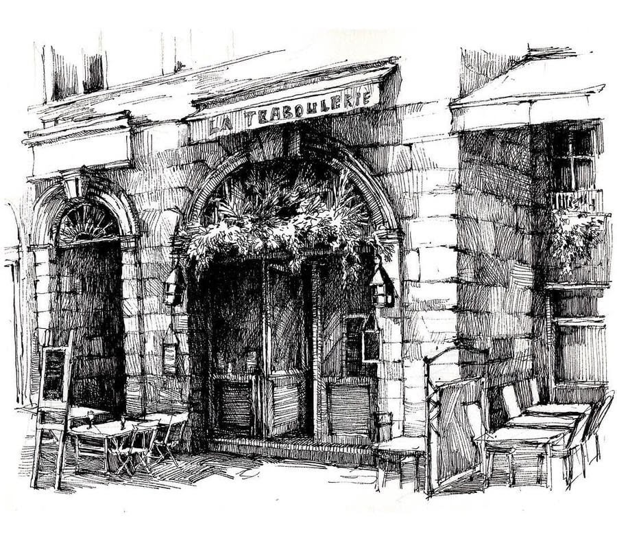 03-Restaurant-sketches-Asmik-Babaian-www-designstack-co